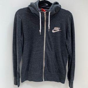 Nike Women's Gym Vintage Full Zip Hoodie (size L)